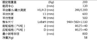 电子称重液压搬运车,2T  690×1150mm PU双轮/橡胶大轮 黄色