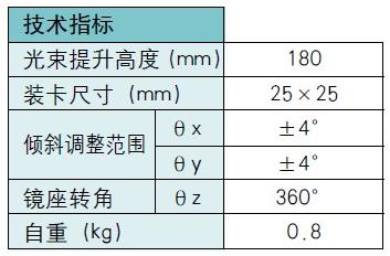 光束转折器 BS201