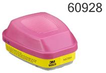 3M 6000/7000/FF-400系列组合滤毒盒,60926