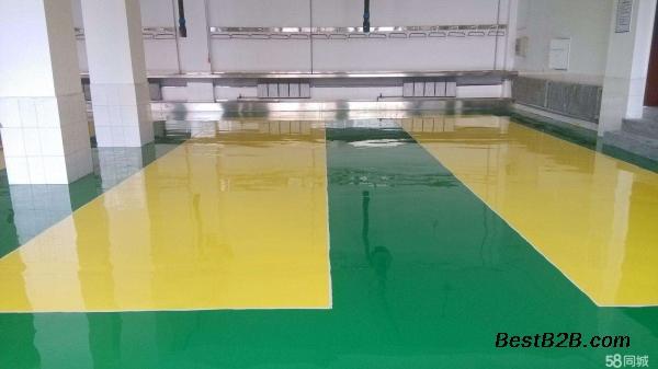 惠州多祝镇厂房自流平环氧防静电地坪施工